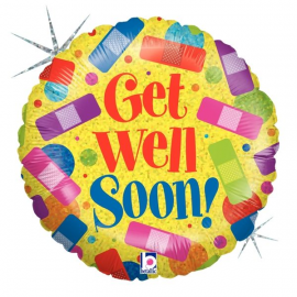 Get Well Soon pleisters