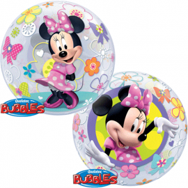 Bubble Minnie Mouse